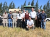 equipo de trabajo - cosechadora de grano - LA RECONQUISTA