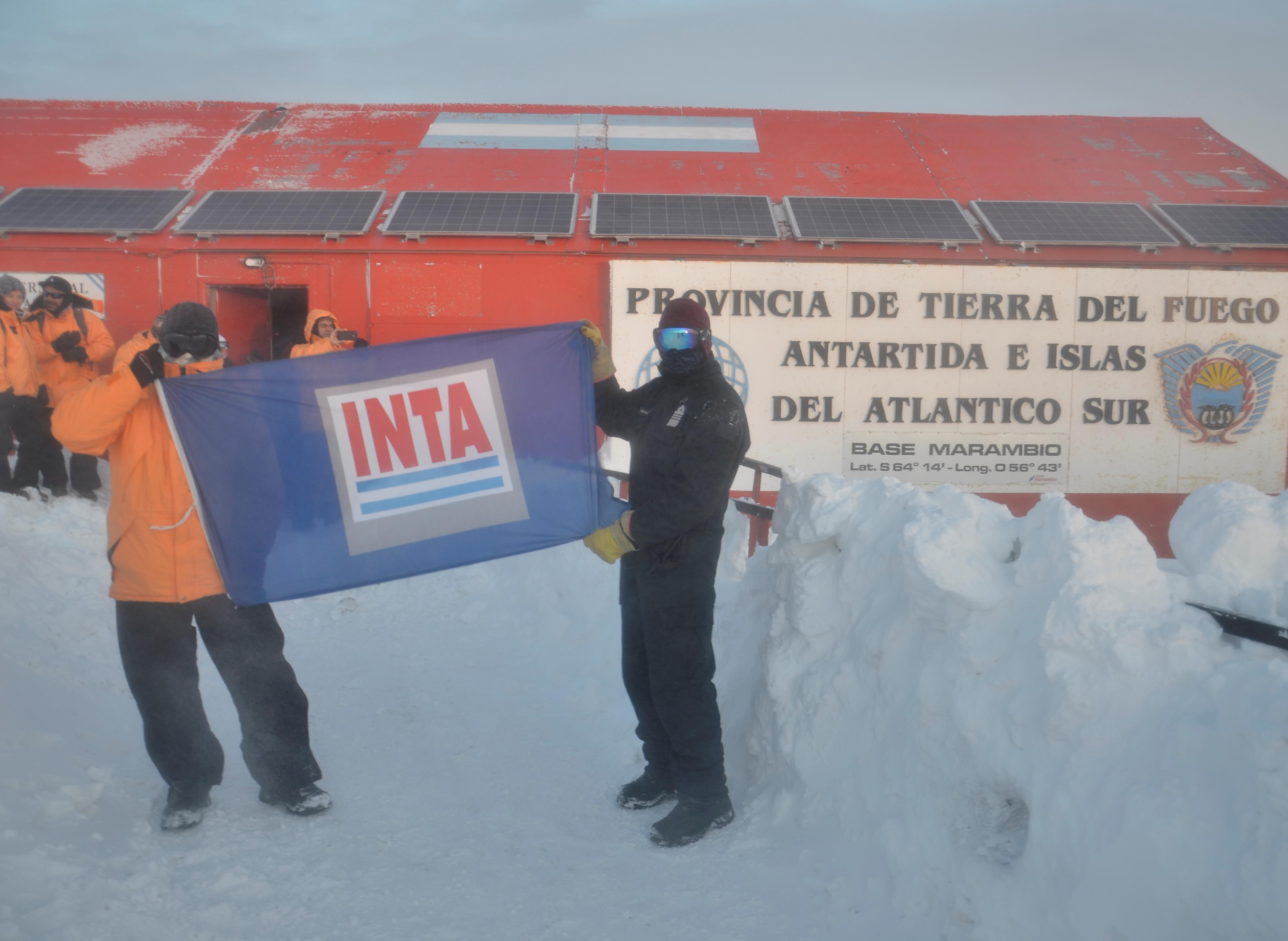 El INTA instala un sistema hidropónico en la Antártida